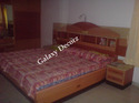 Double Wooden Cot Bed