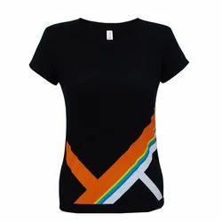Ladies Half Sleeve T-Shirts
