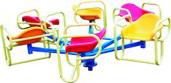 Merry Go Round 6 Seat Playground Equipment