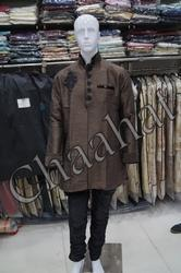 Brown Mens Kurta Pyjamas