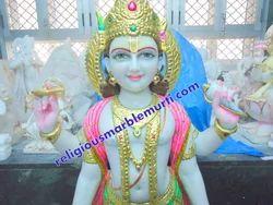 Religious Marble Vishnu Laxmi Statue