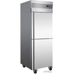 Stainless Steel Freezer Double Door