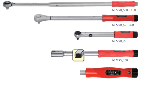 Torque Wrench With Setting Scale Automatic Triggering