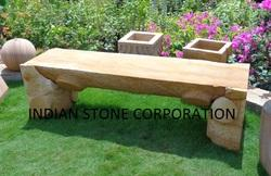 Stone Bench & Sofa