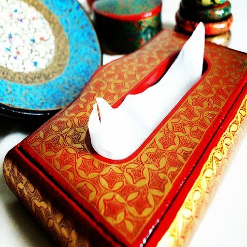 Paper Mache Tissue Box & Paper Mache Products - Paper Mache Plates Manufacturer from Srinagar