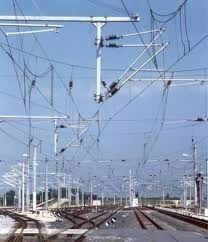 Railway Ohe Traction Line Supply and Erection
