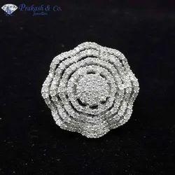 American Diamond Fancy Rings