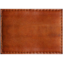 Dark Brown Leather Patch