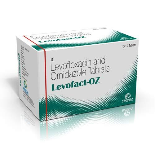 Levofloxacin And Ornidazole Tablet 500 Mg