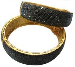 The Mask Jewellery Black Diamond Bangle