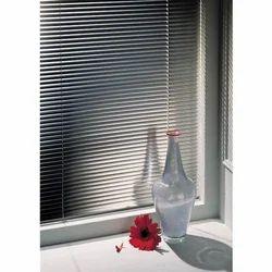 Silver Horizontal Aluminum Venation Blind, For Home
