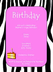 Birthday Invitation Cards Printing Service