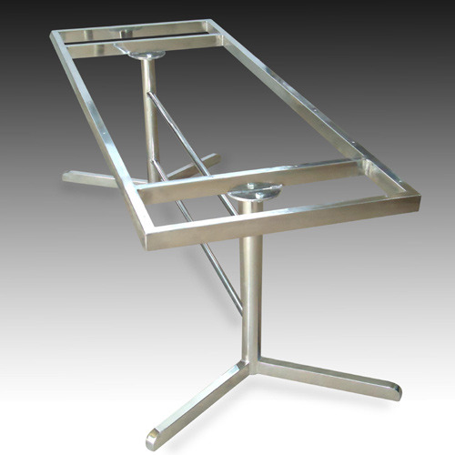 Stainless Steel Dining Table Frame  : stainless steel dining table frame 500x500 from www.indiamart.com size 500 x 500 jpeg 36kB