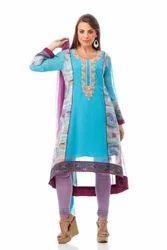 Semi Indo Western Party Wear Tunic