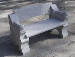 Granite Bench with Unique Style