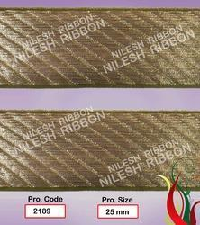 Golden Zari Border Lace