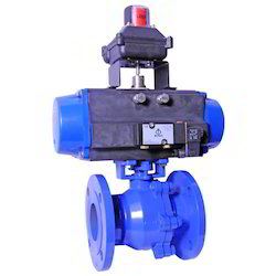 Aqua Pneumatic Operated Ball Valve, Size: 0.5 To 12 Inch