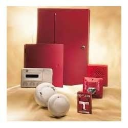 White Fully Automatic Fire Alarm System