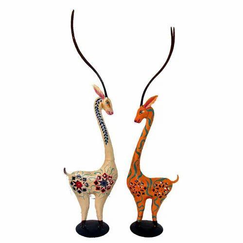 Wooden Reindeer Decorative Bamboo And Wooden Handicrafts Arts
