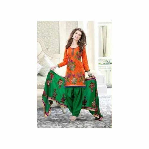 ffccab579a Cotton Punjabi Suits at Rs 850 /piece(s)   Punjabi Ladies Suit ...