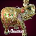 White Marble Elephant Statues, For Interior Decor, Size/dimension: 12 Inch To 6 Feet