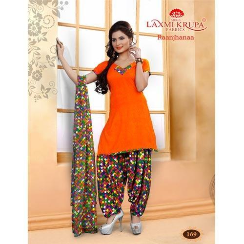 82aeff333d Punjabi Printed Patiala Suits, पंजाबी प्रिंटेड ...