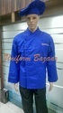 Blue Colored Chef Coats