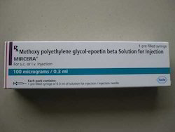 Mircera Methoxy Polyethylene Injection