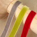 Coloured Velvet Ribbons