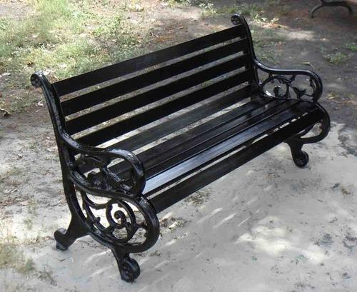 Metal Park Bench Rs 11000 Unit Outdoor Hub Id 4293594373