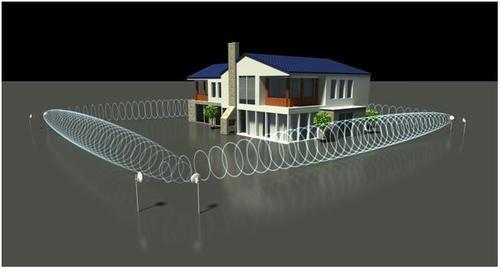 Advanced Perimeter Security System Outdoor Movement