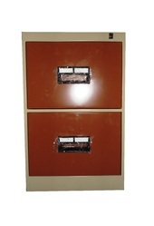 2 Drawer Vertical Filling Cabinet With Plastic Handle