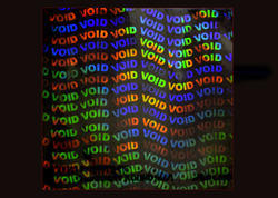 Void Holographic Transparent Overlay