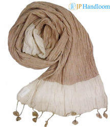Tussah Silk & Mulberry Silk Blended Stole