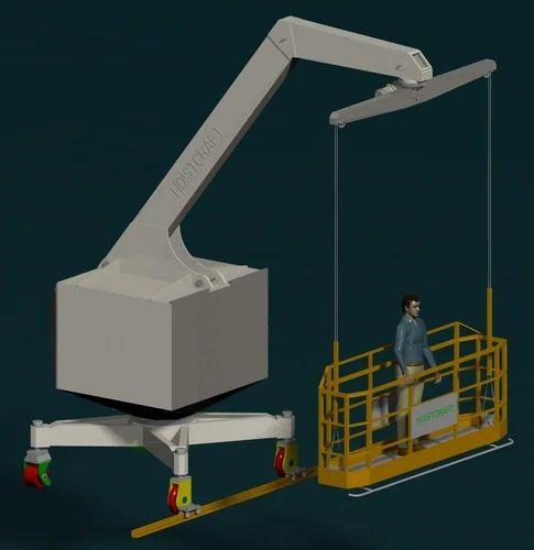 Building Maintenance Units Trackless Bmu Manufacturer