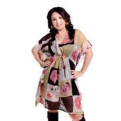 Printed Ladies Fancy Tunic Coverups