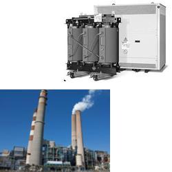 Dry Industrial Transformers for Power Plant