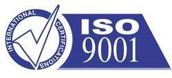 IAF Accredited ISO 9001 Certificates