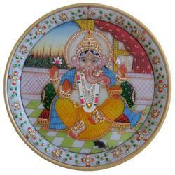 Marble Ganesh Plate