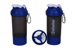 Blended Soot Blue Shaker Bottles