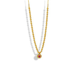 Womens Trendz Long Saaj Ghat Haar Necklace