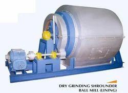 Dry Grinding Shrounder Ball Mill