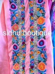 Punjabi Phulkari Suit