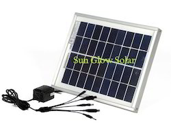Black Sunglow Solar Solar Mobile Charger