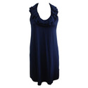 Knitted Navy Blue Tunic