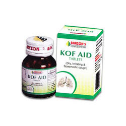 Bakson''''s Homeopathic Kof Aid Tablet