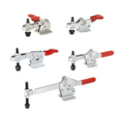 Horizontal Hold Down Action Toggle Clamps