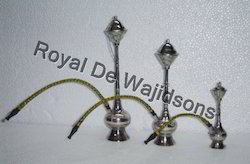 Brass Nickel Plated Hookah