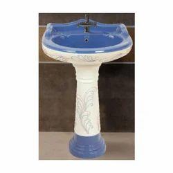 Matt Vitrosa Pedestal Wash Basin