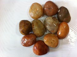 Natural  Double Polished Pebbles